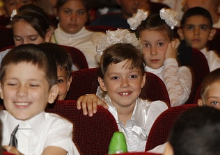On 1 September Empils Presented Fairytale to the Pupils